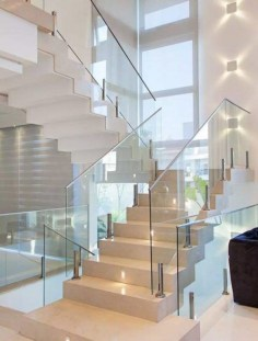 Luxury Glass Stairs Ideas11