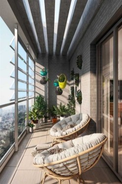 Modern Apartment Balcony Decorating Ideas17