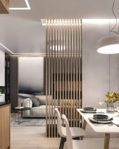 Modern Living Room Partition Ideas11