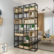 Modern Living Room Partition Ideas13