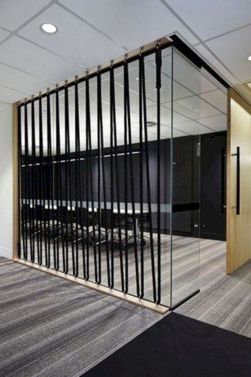 Modern Living Room Partition Ideas14