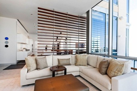 Modern Living Room Partition Ideas22