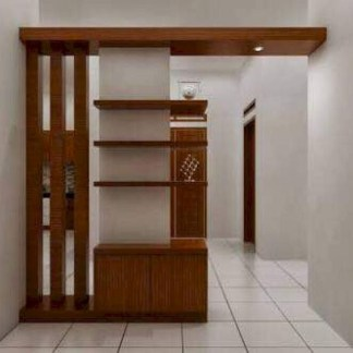Modern Living Room Partition Ideas35
