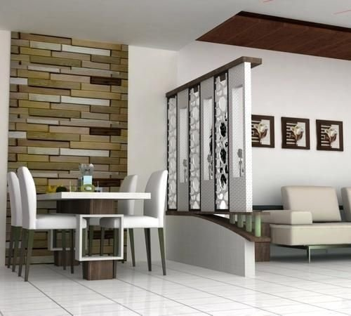 Modern Living Room Partition Ideas40