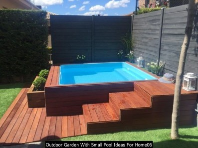 Outdoor Garden With Small Pool Ideas For Home06