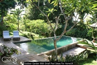 Outdoor Garden With Small Pool Ideas For Home18