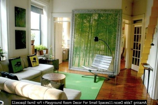 Playground Room Decor For Small Spaces11
