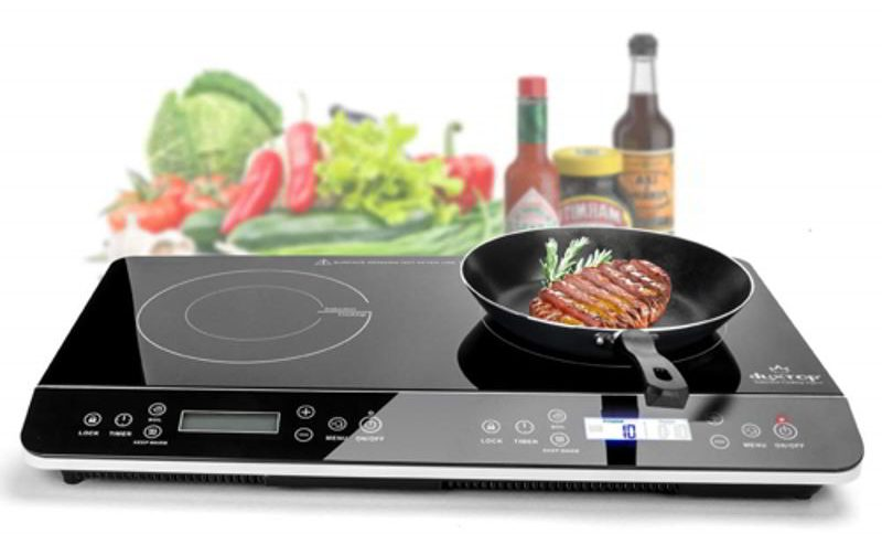 Duxtop 9620LS LCD Portable Double Induction