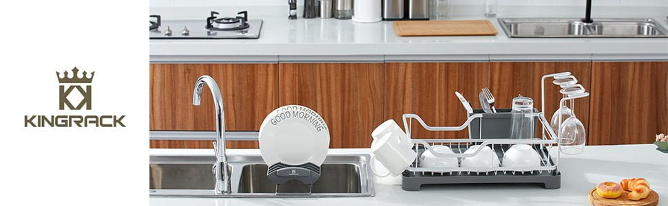 KK KingRack Aluminum Dish Drying Rack