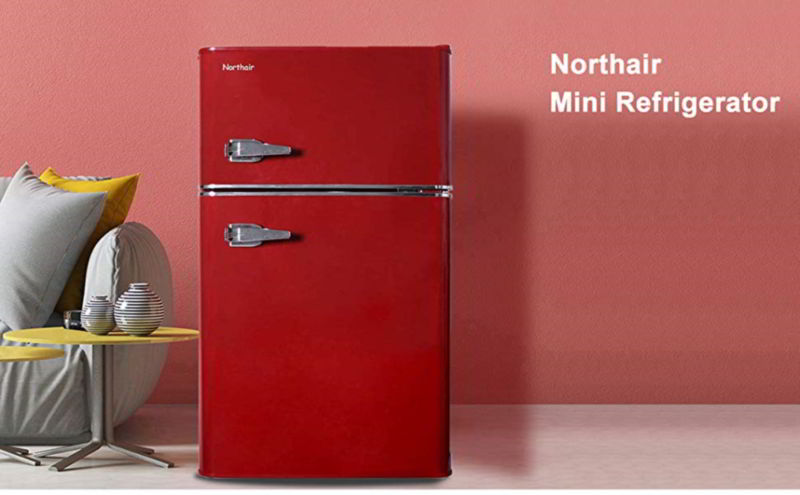 Northair 2-Door Mini Refrigerator