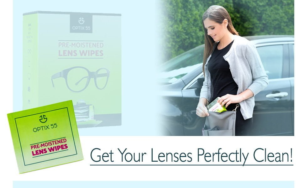 Optix Eyeglass Cleaner Lens Wipes
