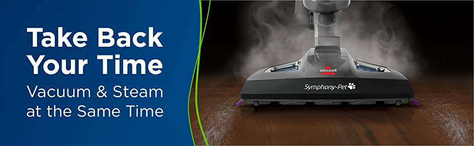 BISSELL Symphony 1543A, Pet Steam Vacuum cleaner
