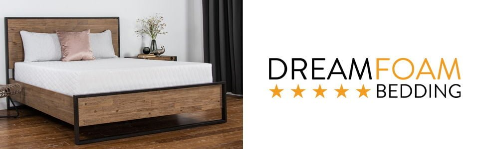 Dreamfoam Bedding Chill 14 Gel Memory Foam Mattress