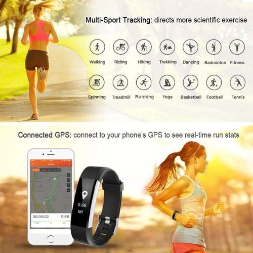 LETSCOM Fitness Tracker HR 3