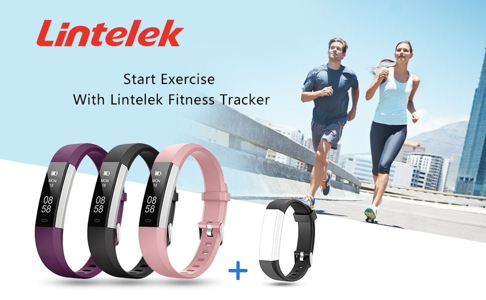 Lintelek Fitness Tracker with Heart Rate Monitor 2