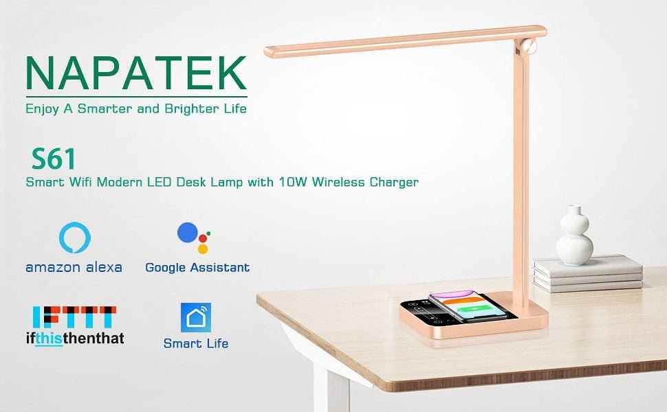 NAPATEK Smart LED Desk Lamp