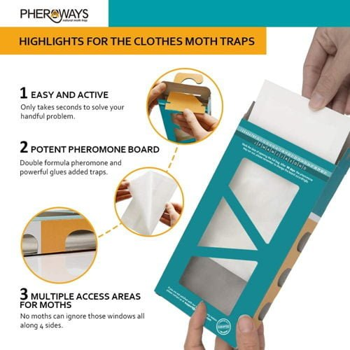 Pheroways Clothes Moth Traps