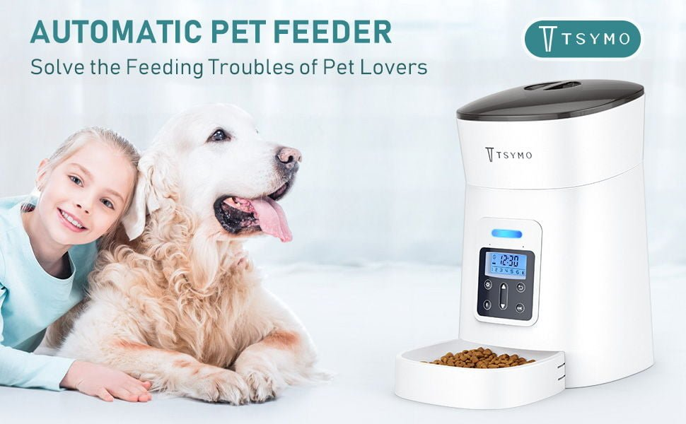 TSYMO Automatic Pet Feeder