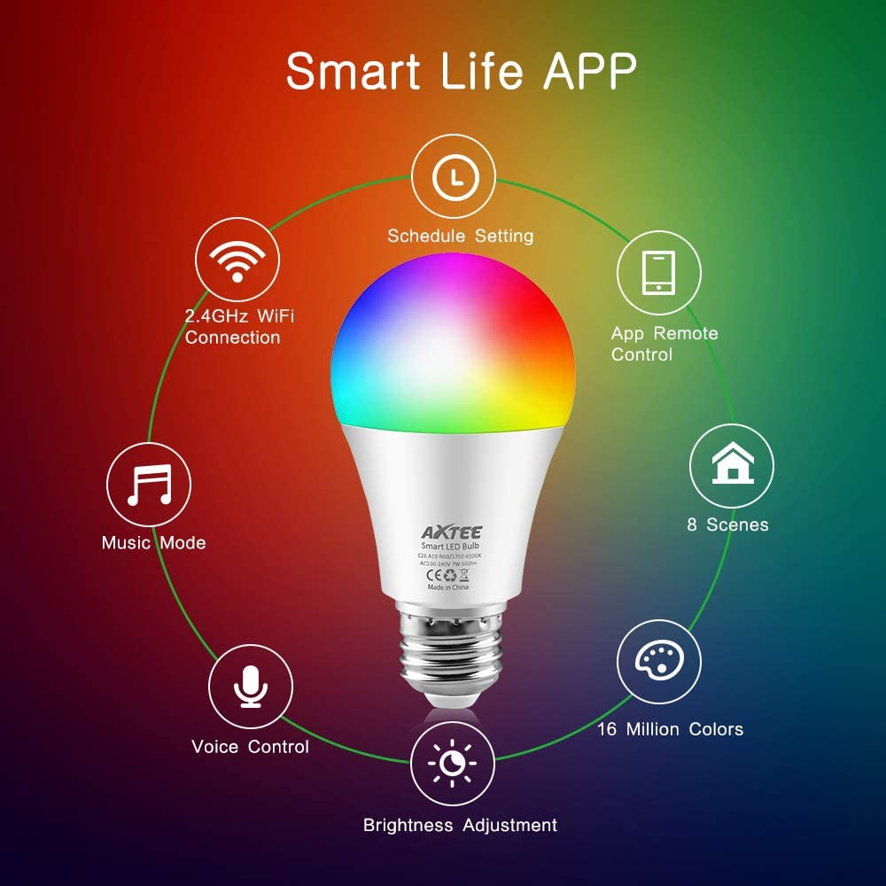 Axtee Best Smart Light Bulb