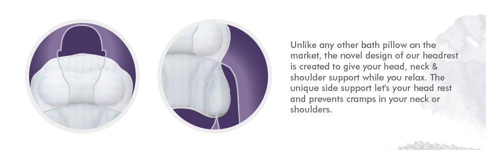 Kandoona ZenTyme Luxury Bath Pillow 1