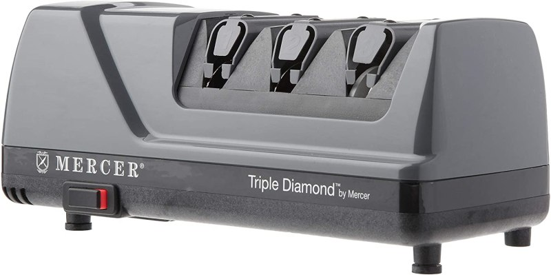 Mercer Culinary Triple Diamond 3 Stage Sharpener