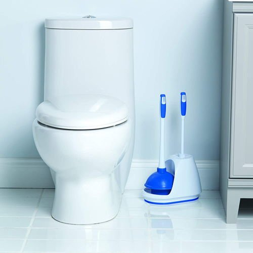 Mr. Clean 440436 Turbo Plunger and Bowl Brush Caddy Set 2