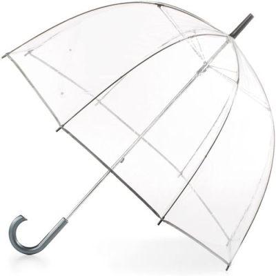 totes Womens Clear Bubble Umbrella