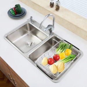iPEGTOP Expandable Dish Drying Rack
