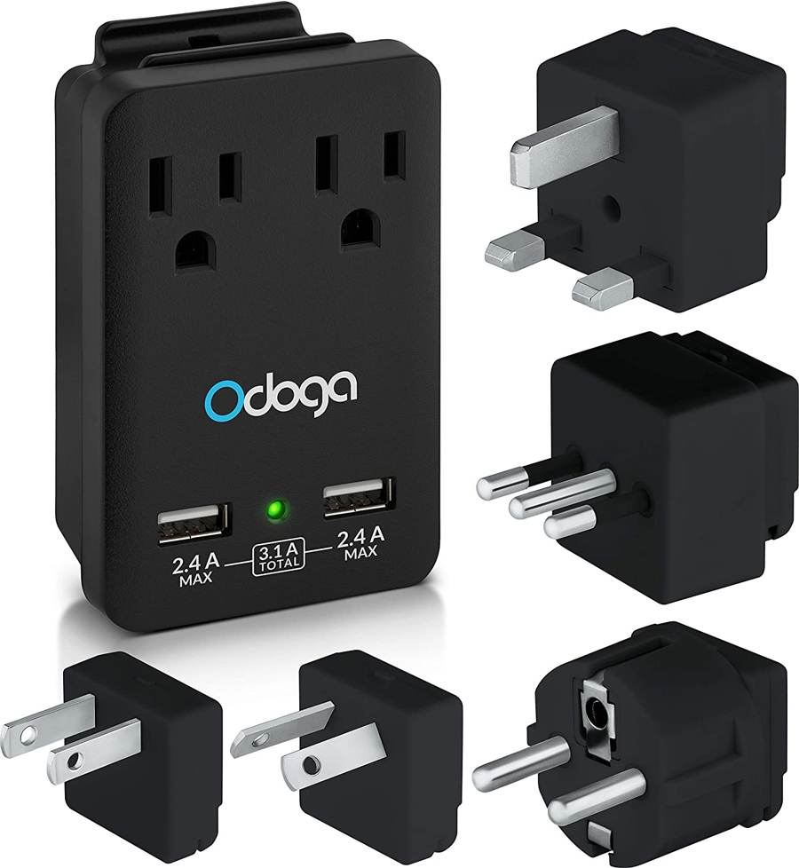 odoga high voltage converter and power adapter