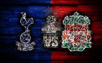 Download wallpapers 4k, Tottenham Hotspur vs Liverpool ...
