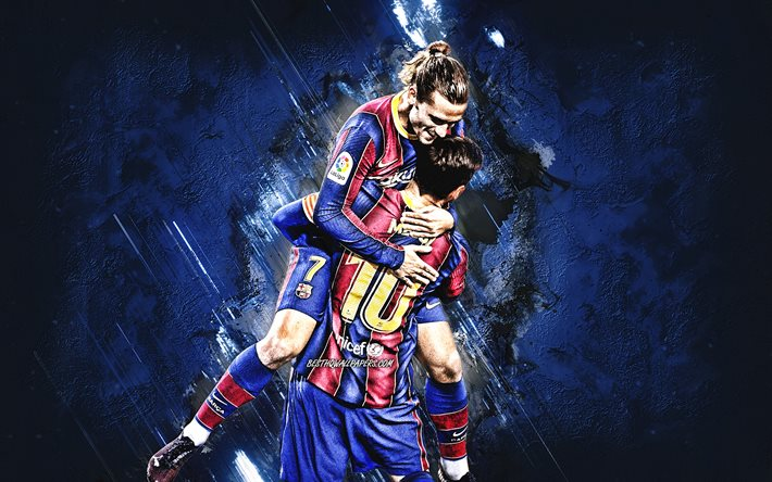 This hd wallpaper is about soccer, antoine griezmann, fc barcelona, football, french, original wallpaper dimensions is 6000x4000px, file size is 2.06mb. Download wallpapers Lionel Messi, Antoine Griezmann, FC ...