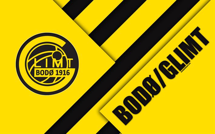 Download wallpapers FK Bodo Glimt, 4k, logo, material ...