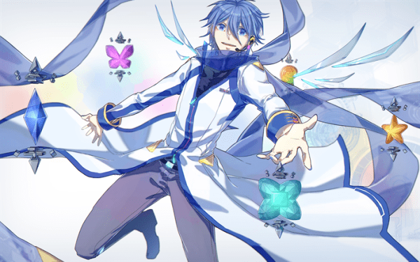 Download wallpapers 4k, KAITO, Vocaloid, anime characters ...