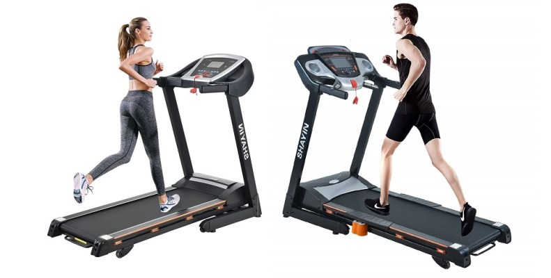 Shayin Folding Electric Treadmill