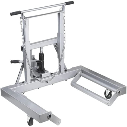 OTC 1669A 1500 Lb. Capacity Adjustable Height Dual Wheel Dolly for Large Trucks 2
