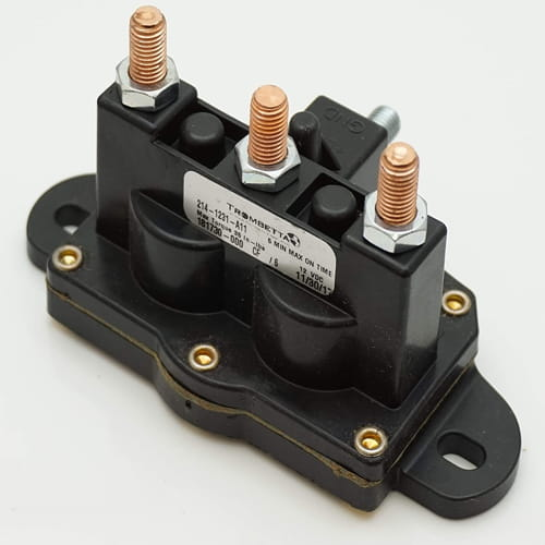 CRANK N CHARGE Winch Motor Intermittent Duty Reversing Solenoid DC Contactor Relay Switch