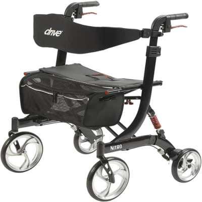 Drive medical heavy duty nitro euro style walker rollator Reviews