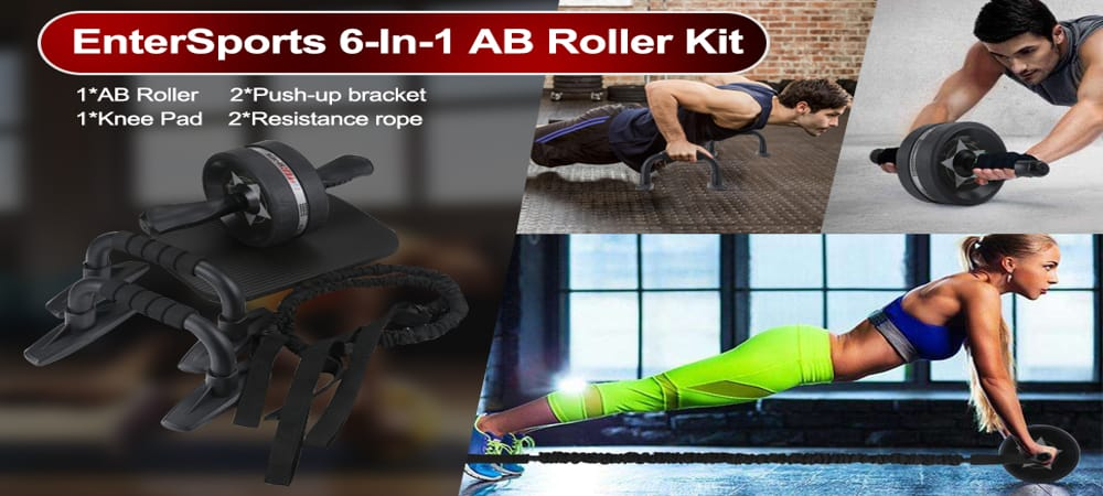 EnterSports Ab Roller Wheel 1