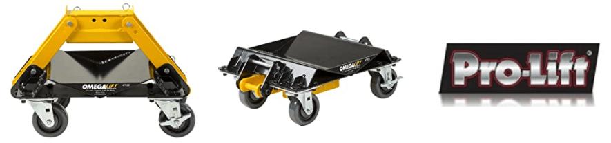 Omega 47020 2000 lb HD 3 in 1 Car Dolly Set 1 Pack