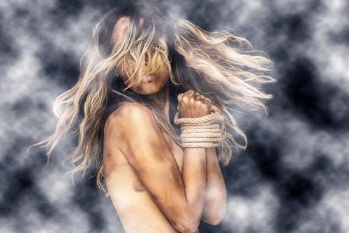 Stop Smoking Woman Power