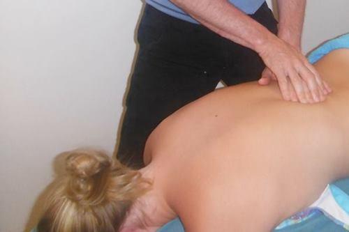 sexy back massage
