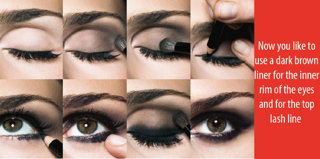 A Very Quick Guide On How To Do a Smokey Eye For Brown Eyes
