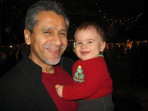 dad and teo 2011