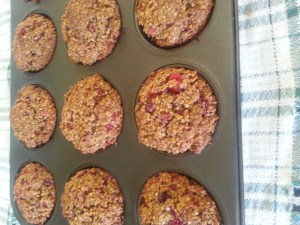 Wheat Free Cranberry Orange Muffins