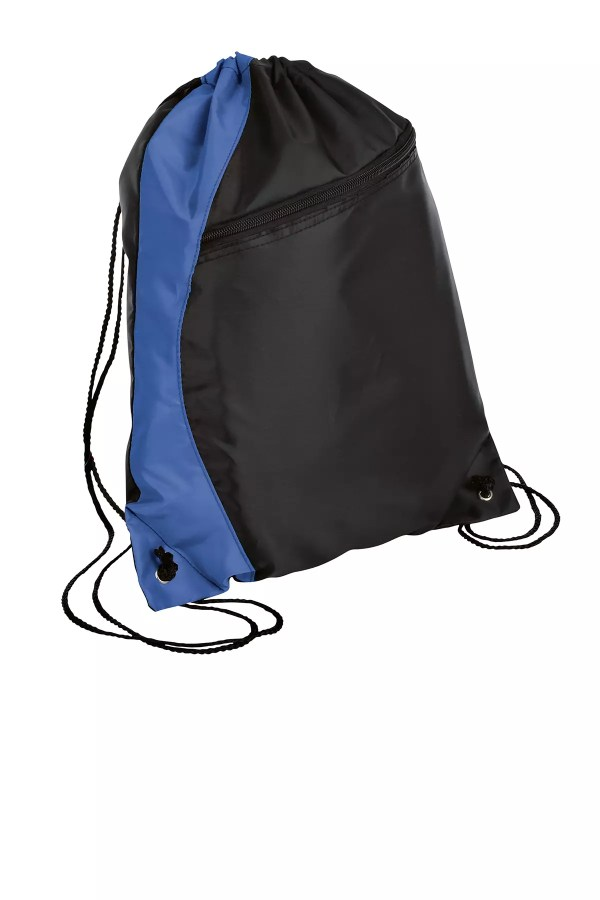 backpack cinch royal blue port and company