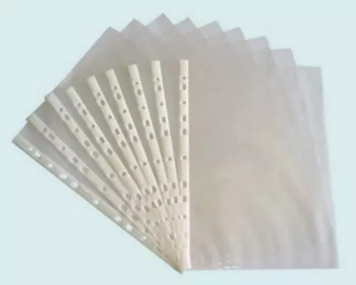 Sheet Protector 8.5 x 11 plastic each