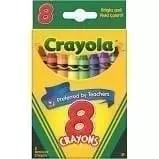 Crayon, 8 count, crayola