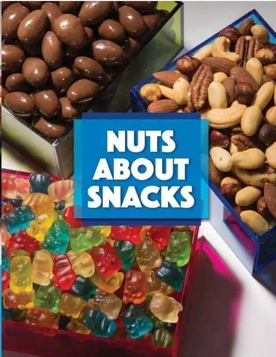 Nuts About Snacks Fundraiser Order Taker Program