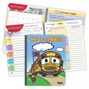 student planner primary school student