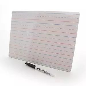dry erase board double sided with marker